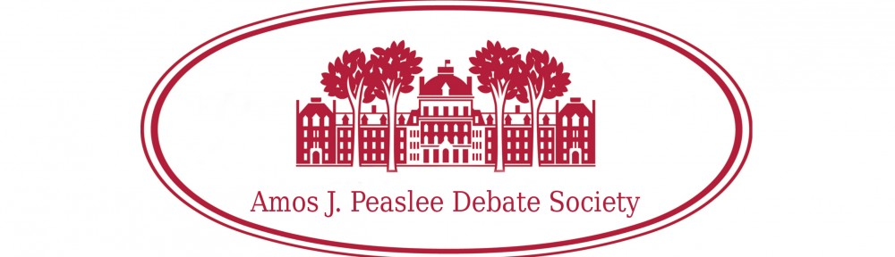 Peaslee Debate Society