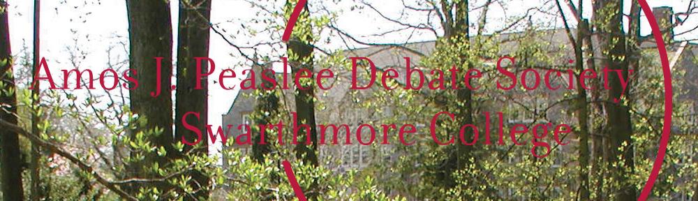 Peaslee Debate Society